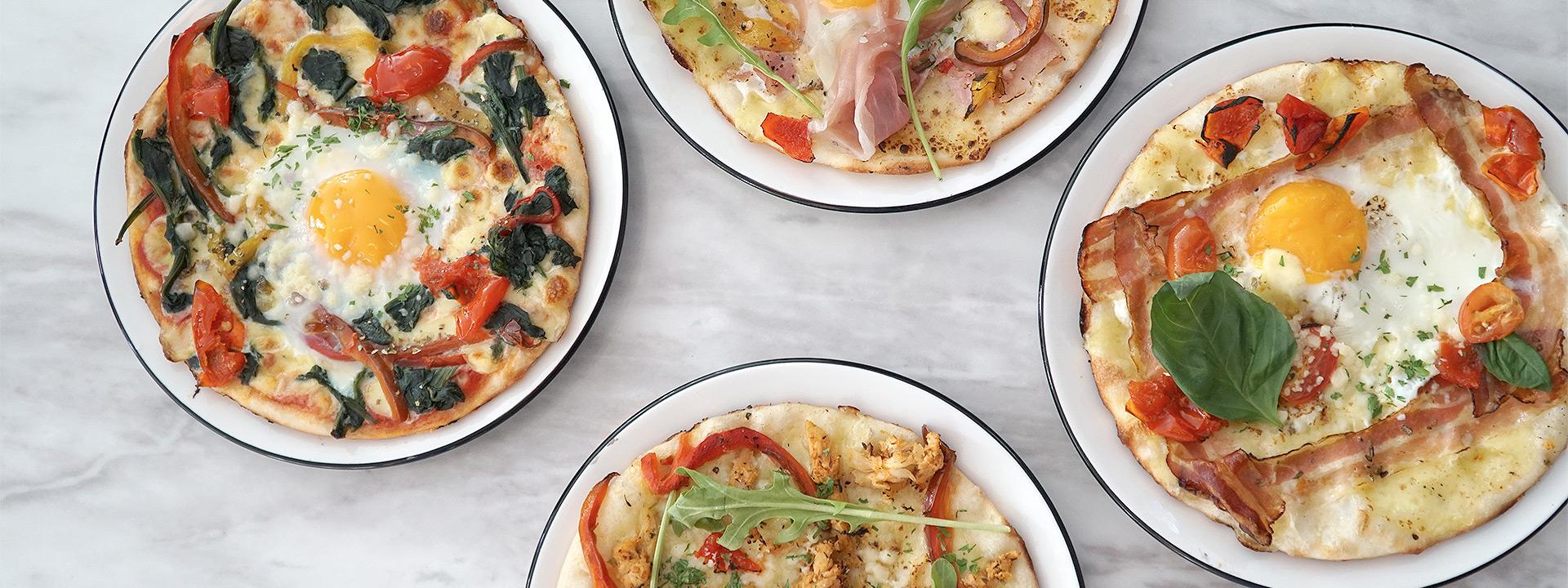 PizzaExpress Singapore - Breakfast Pizzas